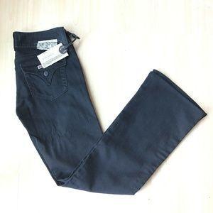 HUDSON Stone Dark Wash Signature Bootcut Jeans